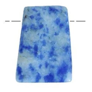 """Picture of Sodalite Trapezoid Bead, 35x45mm, 8"""" Strand"""