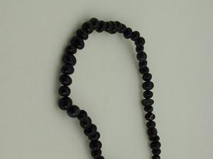 "Picture of Black Onyx Pebble 16"" Strand"