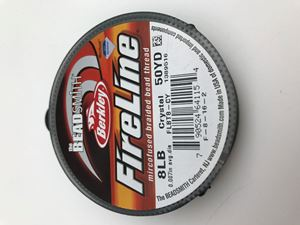 "Picture of .007"" 8lb Crystal FireLine 50Yd"