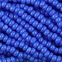 Picture of Light Royal Blue Cut Seed Bead Size 13