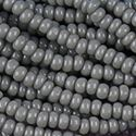 Picture of Grey Cut Seed Bead Size 13