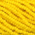 Picture of Opaque Lemon Yellow Seed Bead #13