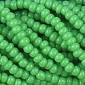 Picture of Opaque Light Green Seed Bead #13