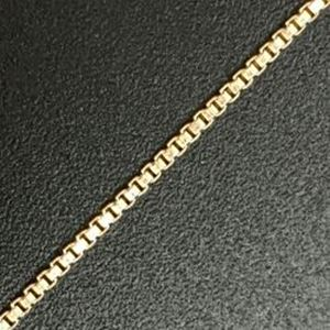 """Picture of Gold Filled Box Chain 1mm 18"""""""