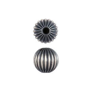 Picture of Sterling Silver JCK Corrugated Round Beads 7mm<br />1Bead