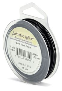 Picture of Black Artistic Wire 18ga 10 Yards