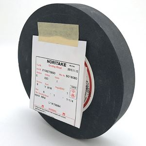 Picture of Black Grinding Wheel 6 Inch 220 Grit