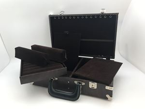 """Picture of Enchanted Deluxe Case, Brown/Brown, 10"""" L x 16"""" W x 4"""" H"""