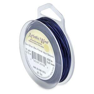 Picture of Dark Blue Artistic Wire 20ga 15 Yards