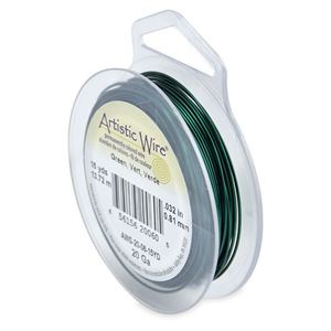 Picture of Green Artistic Wire 20ga 15 Yards