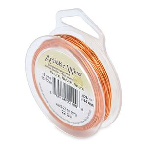 Picture of Natural Artistic Wire 22ga 15 Yards