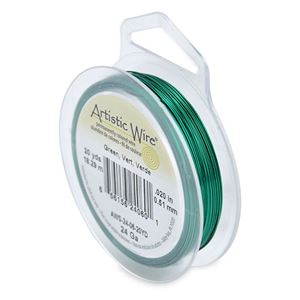 Picture of Green Artistic Wire 24ga 20 Yards