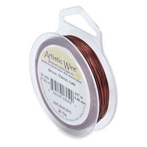 Picture of Brown Artistic Wire 26ga 30 Yards