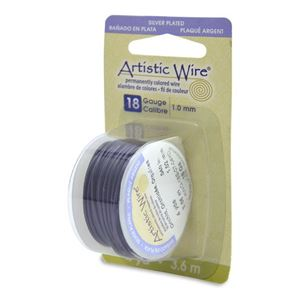 Picture of Silver Plated Orchid Artistic Wire 18ga 12 Feet