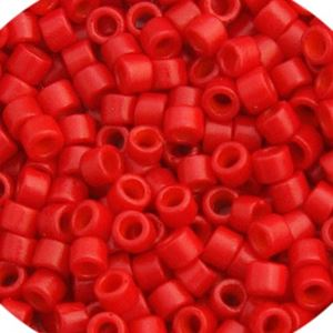 Picture of Delica 11/0 Bright Red Matte - Dyed