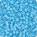 Picture of Miyuki Delica Size 11 Seed Beads, Light Blue Opaque