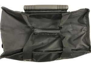 """Picture of Black Travel Case with Handle 16"""" x 9"""" x 19"""" H"""