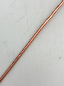 Picture of Half Round Wire Copper 12 Gauge/.081 Inch base 20 Ft.
