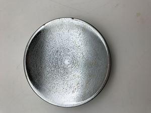 "Picture of 4"" Round Concave Cast Iron Anvil"