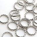 Picture of Sterling Silver Heavy Twist Link 15mm