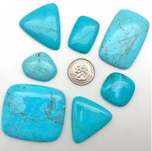 Picture of Compitos Turquoise Cabochon