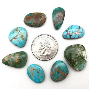 Picture of High Grade Royston Turquoise Cabochon