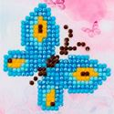 Picture of Diamond Dotz, Butterfly Sparkle, Design Size 3x3in