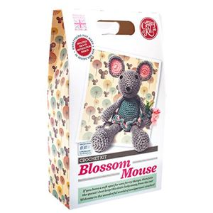 Picture of Crochet Kit, Blossom Mouse