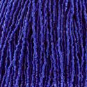 Picture of 3-Cut Size 9/0, Preciosa Czech Seed Bead, Transparent Royal Blue ~ Silver-Lined, Sold by the Hank