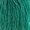 Picture of Czech Seed Bead, Crystal Green Color Transparent, 3 Cut Size 9/0 ~