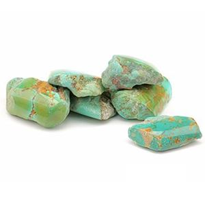 Picture of Kingman Turquoise Green, Rough AAA
