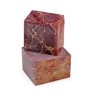 Picture of Red with Gold Matrix BLOCK