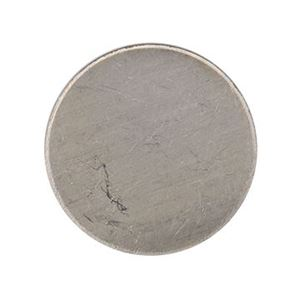 Picture of Disc Nickel Silver, 24 Gauge, 11/16 Inch