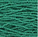Picture of Opaque Forest Green Seed Bead #12