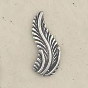 Picture of Sterling Silver Machine Cast Right Leaf 17mm