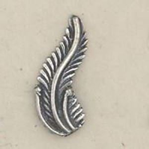 Picture of Sterling Silver Machine Cast Left Leaf 17mm