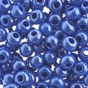 Picture of Size #32/0 Seed Bead, Opaque Light Royal Blue Luster, Approximately ~ 19 Grams