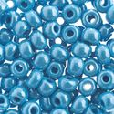 Picture of Opaque Light Blue Luster Seed Bead #32/0<br /> Approximately 19 ~        Grams