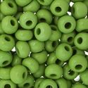 Picture of Size #32/0 Seed Bead, Opaque Green, Approximately 19 Grams