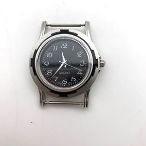 Picture of Black with Black Border Watch 42x35mm, Pin Size 18mm