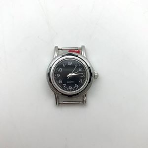 Picture of Black with Black Border Watch 31x27mm, Pin Size 12mm