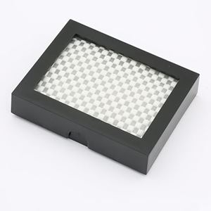"""Picture of Black Riker Case with Non-slip Net, 3"""" x 4"""" x 1""""H"""