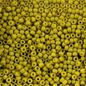Picture of Semi-Glazed Lemongrass Seed Beads #2600F / Size 8<br />Approximately ~        25 Grams