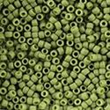 Picture of Semi-Glazed Honeydew Seed Beads #2602F / Size 8<br />Approximately 25 ~        Grams