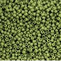 Picture of Size 11 Japanese Seed Beads, Semi-Glazed Honeydew (#2602F), ~ Approximately 25 Grams