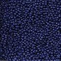 Picture of Size 11 Japanese Seed Beads, Semi-Glazed Navy Blue (#2607F), ~ Approximately 25 Grams