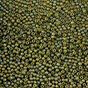 Picture of Size 11 Japanese Seed Beads, Semi-Glazed Olive (#2631F), ~ Approximately 25 Grams