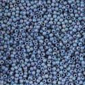 Picture of Size 11 Japanese Seed Beads, Semi-Glazed Soft Blue (#2636F), ~ Approximately 25 Grams