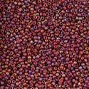 Picture of Size 11 Japanese Seed Beads, Semi-Glazed Dark Red (#2639F), ~ Approximately 25 Grams