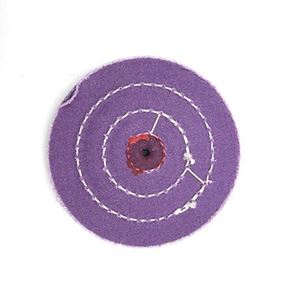 "Picture of 4"" PURPLE Treated Buff Wheel"